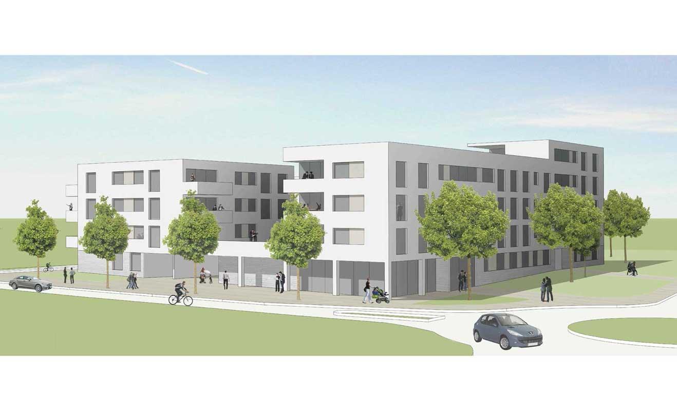 Architekten Friedrichshafen quartier 3 friedrichshafen wiggenhausen süd plan7 architekten