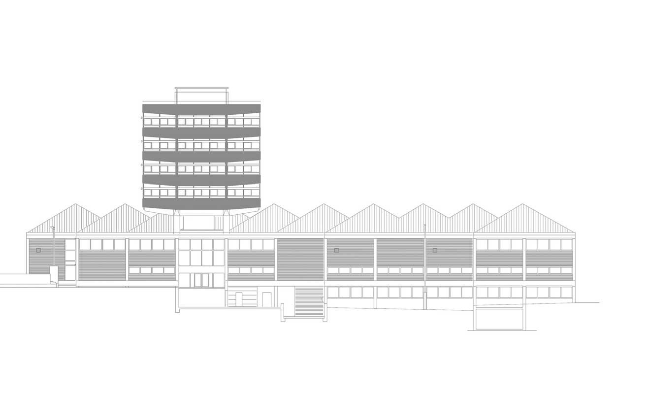 Plan 7 Architekten Institutsgebäude Universität Stuttgart